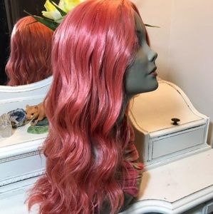 New [Custom Dyed] Rose Lace Part Wig